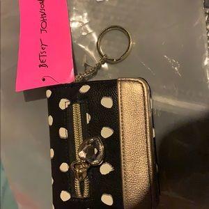 Betsy Johnson mini wallet.